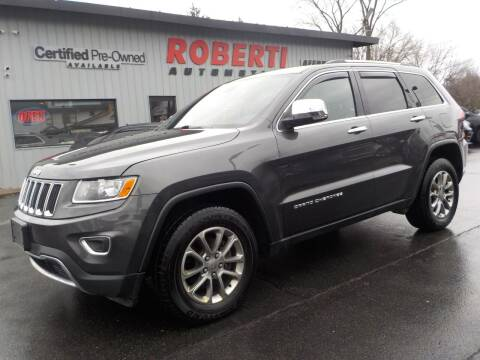 2015 Jeep Grand Cherokee for sale at Roberti Automotive in Kingston NY