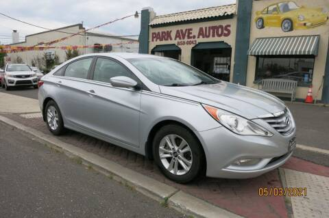 2013 Hyundai Sonata for sale at PARK AVENUE AUTOS in Collingswood NJ