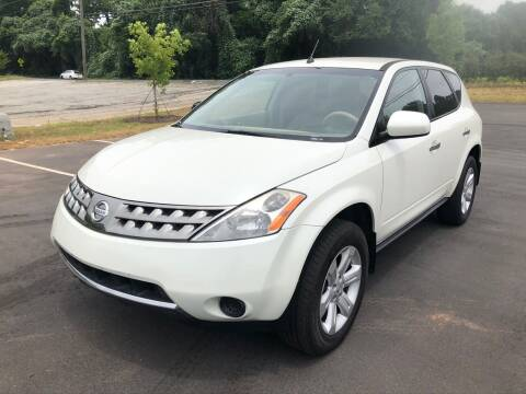 2007 Nissan Murano for sale at Allrich Auto in Atlanta GA