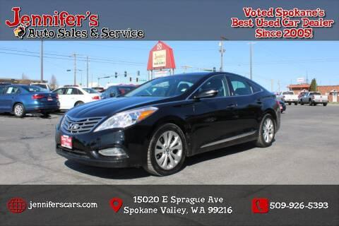 2014 Hyundai Azera for sale at Jennifer's Auto Sales in Spokane Valley WA