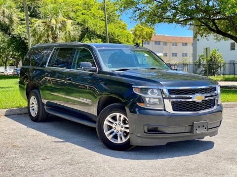 2015 Chevrolet Suburban for sale at Venmotors LLC in Hollywood FL