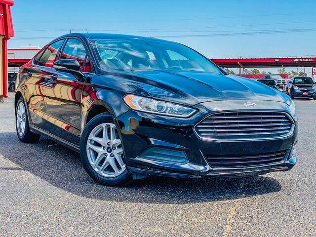 2016 Ford Fusion for sale at MAGNA CUM LAUDE AUTO COMPANY in Lubbock TX