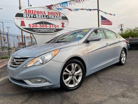 2013 Hyundai Sonata for sale at Arizona Drive LLC in Tucson AZ