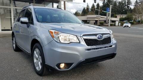2015 Subaru Forester for sale at Seattle's Auto Deals in Everett WA