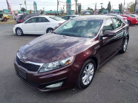 2013 Kia Optima for sale at Wilson Investments LLC in Ewing NJ