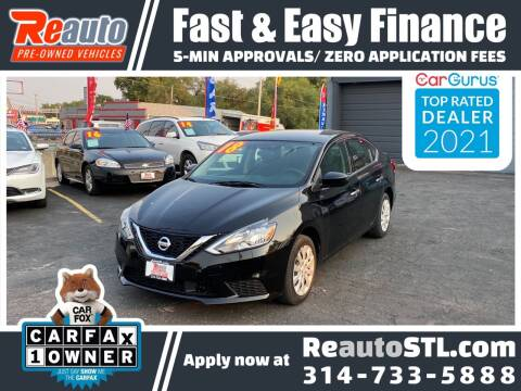 2018 Nissan Sentra for sale at Reauto in Saint Louis MO