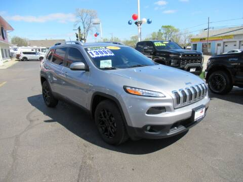 2016 Jeep Cherokee for sale at Auto Land Inc in Crest Hill IL