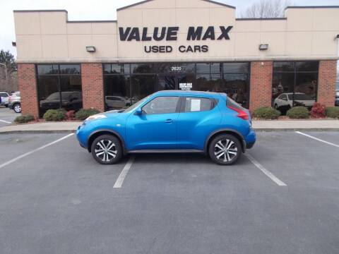 2011 Nissan JUKE for sale at ValueMax Used Cars in Greenville NC