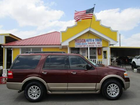 2012 Ford Expedition for sale at Mission Auto & Truck Sales, Inc. in Mission TX