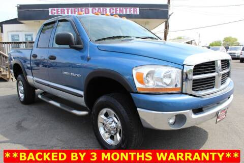 2006 Dodge Ram Pickup 2500 for sale at CERTIFIED CAR CENTER in Fairfax VA