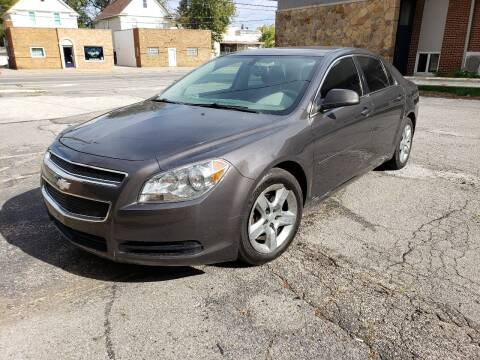 2011 Chevrolet Malibu for sale at USA AUTO WHOLESALE LLC in Cleveland OH