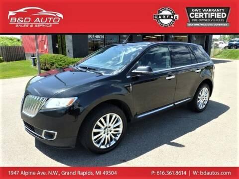 2014 Lincoln MKX for sale at B&D Auto Sales Inc in Grand Rapids MI