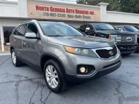 2011 Kia Sorento for sale at North Georgia Auto Brokers in Snellville GA