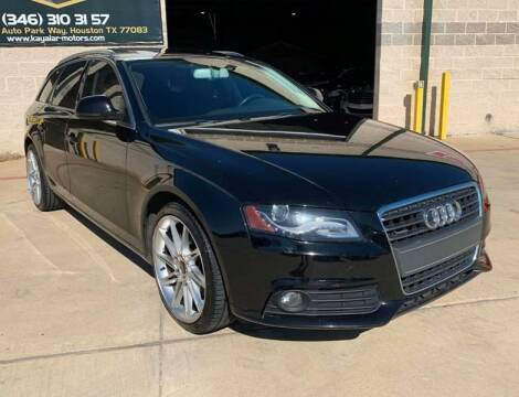 2009 Audi A4 for sale at KAYALAR MOTORS in Houston TX