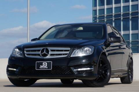 2013 Mercedes-Benz C-Class for sale at JD MOTORS in Austin TX