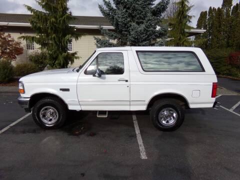 1996 Ford Bronco for sale at Signature Auto Sales in Bremerton WA