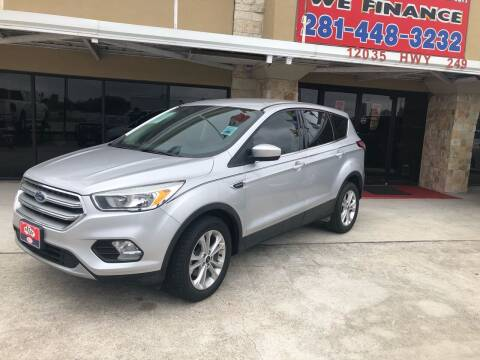 2017 Ford Escape for sale at FREDY CARS FOR LESS in Houston TX