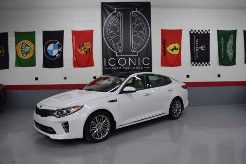 2017 Kia Optima for sale at Iconic Auto Exchange in Concord NC