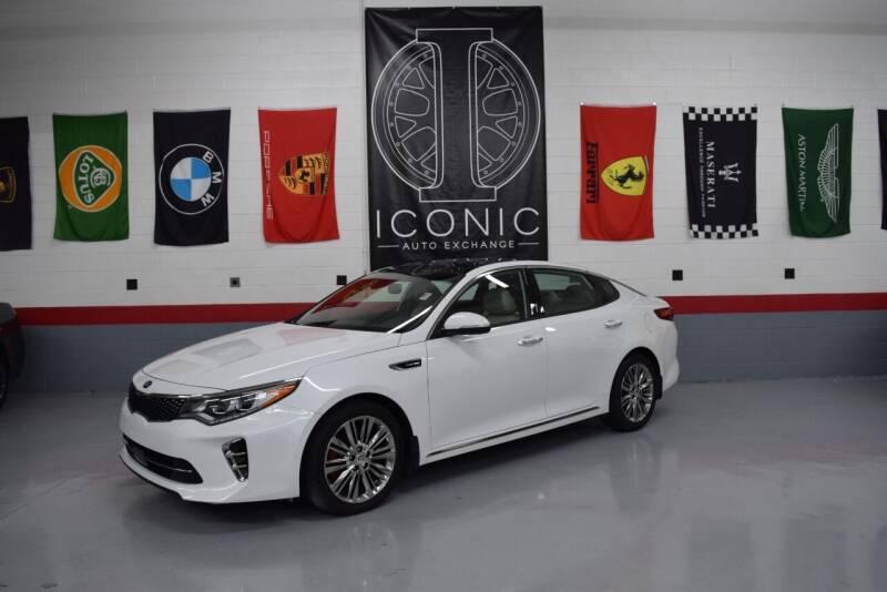 2017 Kia Optima for sale at Iconic Auto Exchange in Concord NC