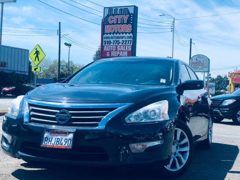 2014 Nissan Altima for sale at City Motors in Hayward CA