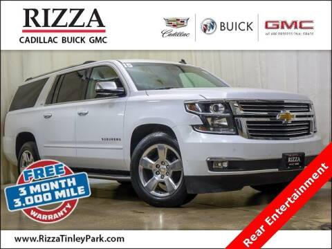 2015 Chevrolet Suburban for sale at Rizza Buick GMC Cadillac in Tinley Park IL