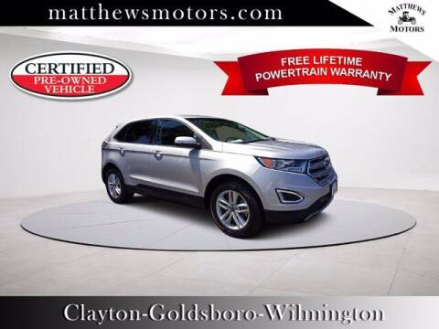 2018 Ford Edge for sale at Auto Finance of Raleigh in Raleigh NC