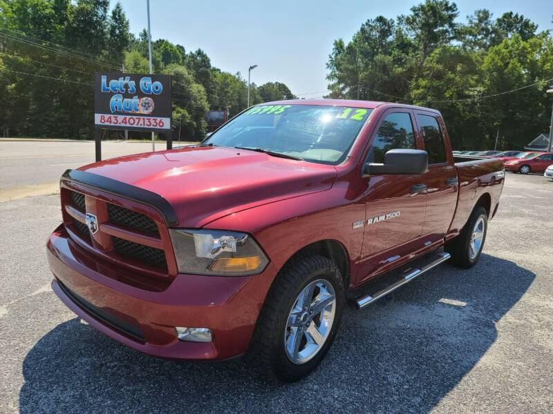 2012 RAM Ram Pickup 1500 for sale at Let's Go Auto in Florence SC