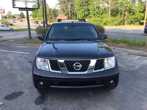 2007 Nissan Pathfinder for sale at ATLANTA AUTO WAY in Duluth GA