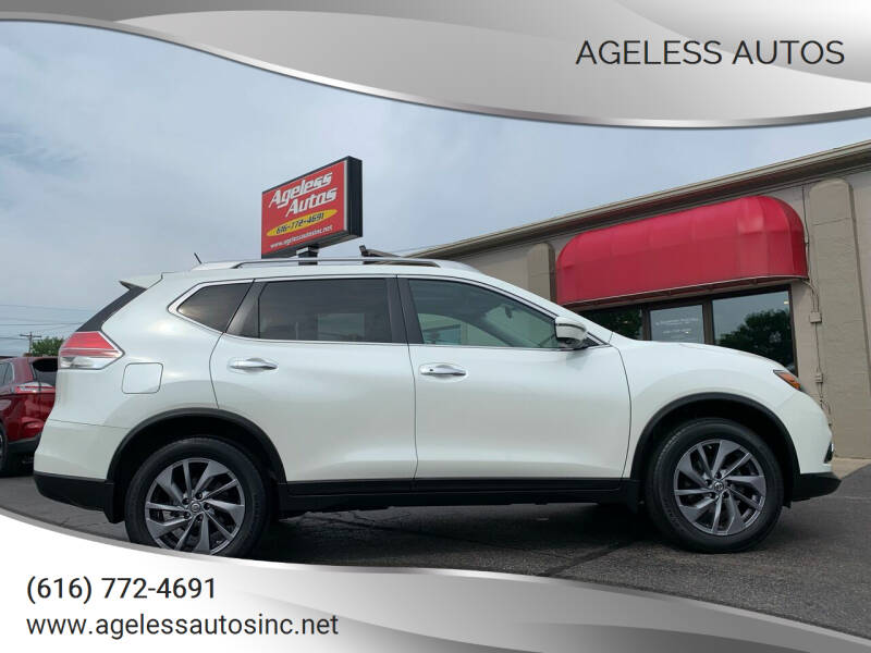 2016 Nissan Rogue for sale at Ageless Autos in Zeeland MI
