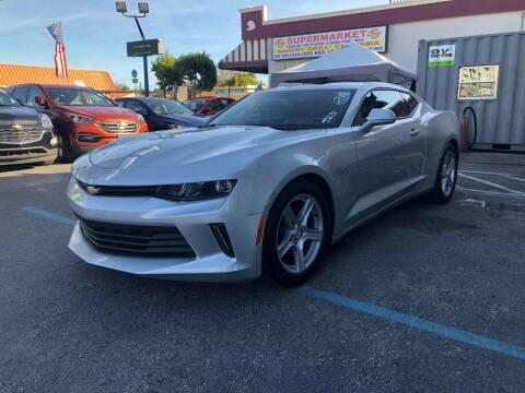 2018 Chevrolet Camaro for sale at CHASE MOTOR in Miami FL
