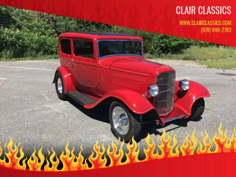 1932 Ford Custom for sale at Clair Classics in Westford MA