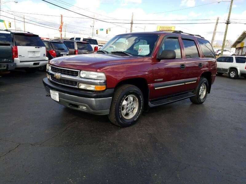 2003 Chevrolet Tahoe for sale at Rucker's Auto Sales Inc. in Nashville TN