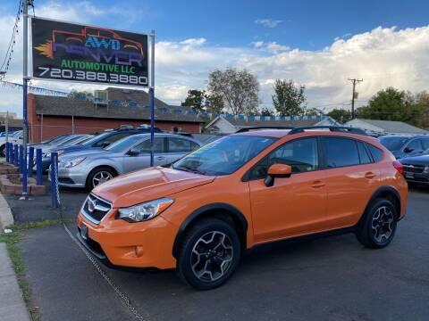 2015 Subaru XV Crosstrek for sale at AWD Denver Automotive LLC in Englewood CO