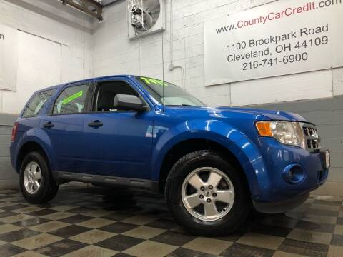2012 Ford Escape for sale at County Car Credit in Cleveland OH