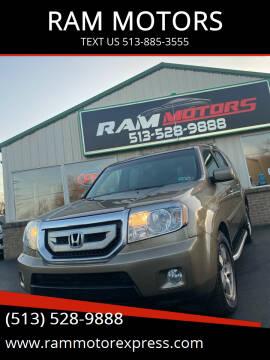 2010 Honda Pilot for sale at RAM MOTORS in Cincinnati OH