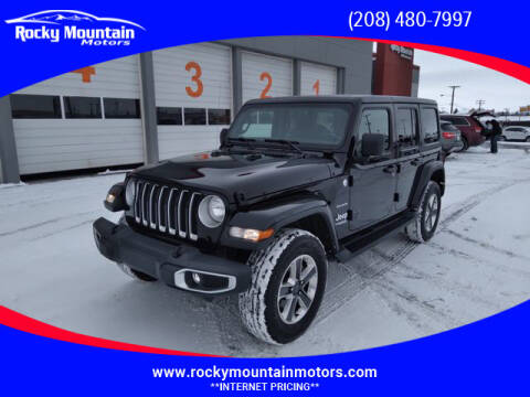 2018 Jeep Wrangler Unlimited for sale at Rocky Mountain Motors in Idaho Falls ID