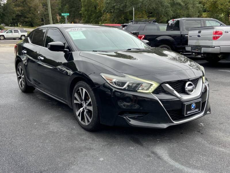 2016 Nissan Maxima for sale at Luxury Auto Innovations in Flowery Branch GA