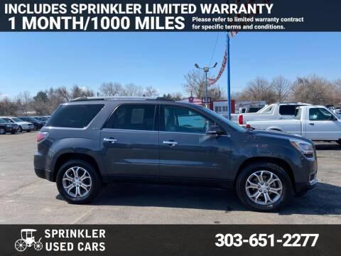 2014 GMC Acadia for sale at Sprinkler Used Cars in Longmont CO