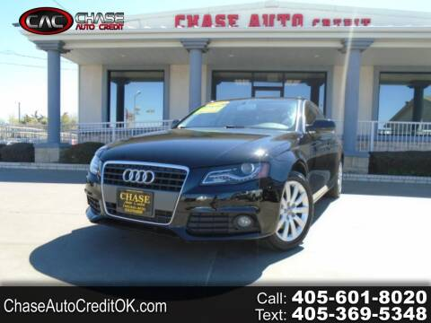 2012 Audi A4 for sale at Chase Auto Credit in Oklahoma City OK