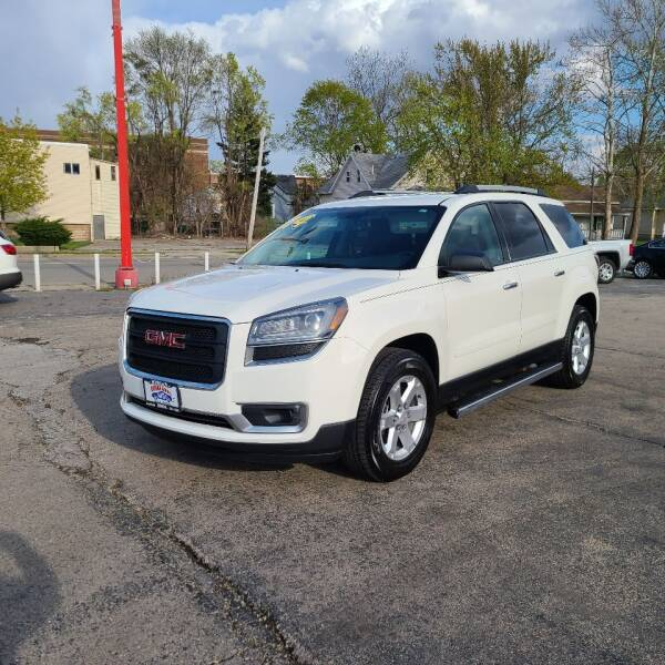 2014 GMC Acadia for sale at Bibian Brothers Auto Sales & Service in Joliet IL