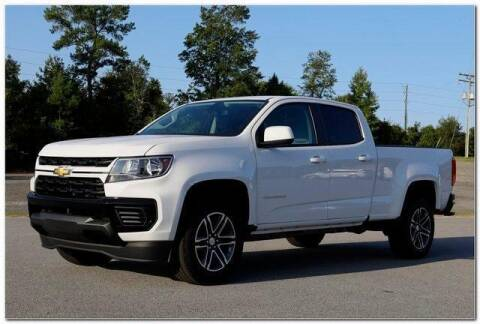 2021 Chevrolet Colorado for sale at WHITE MOTORS INC in Roanoke Rapids NC