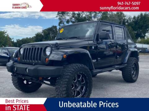 2012 Jeep Wrangler Unlimited for sale at Sunny Florida Cars in Bradenton FL