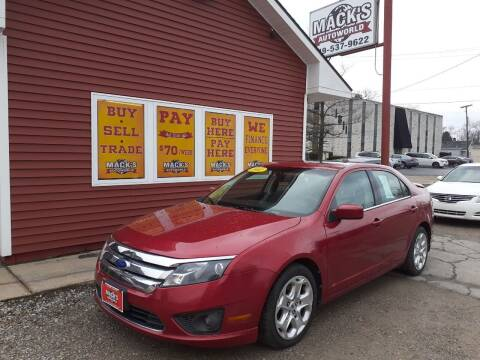 2011 Ford Fusion for sale at Mack's Autoworld in Toledo OH