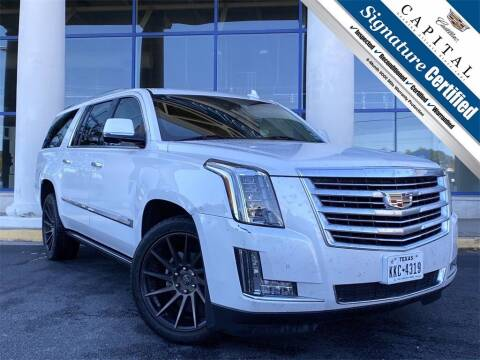 2016 Cadillac Escalade ESV for sale at Southern Auto Solutions - Georgia Car Finder - Southern Auto Solutions - Capital Cadillac in Marietta GA