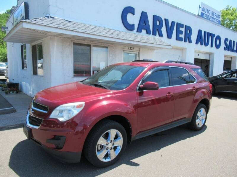 2012 Chevrolet Equinox for sale at Carver Auto Sales in Saint Paul MN
