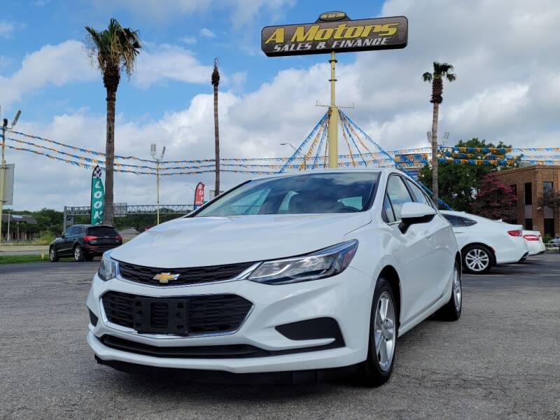 2017 Chevrolet Cruze for sale at A MOTORS SALES AND FINANCE - 6226 San Pedro Lot in San Antonio TX