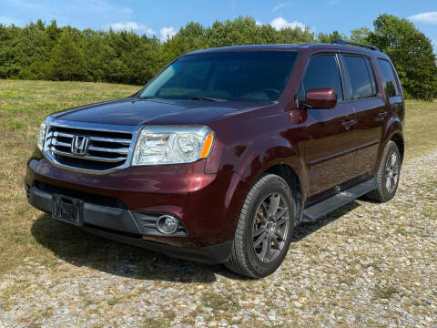 2012 Honda Pilot for sale at TINKER MOTOR COMPANY in Indianola OK