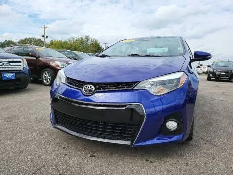 2015 Toyota Corolla for sale at Eagle Motors in Hamilton OH