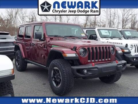 2021 Jeep Wrangler Unlimited for sale at NEWARK CHRYSLER JEEP DODGE in Newark DE