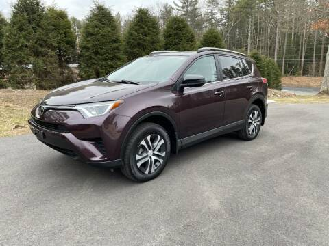 2018 Toyota RAV4 for sale at DON'S AUTO SALES & SERVICE in Belchertown MA